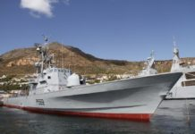 SAS Makhanda - Offshore Patrol Vessel