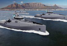 Artist rendering of the three Multi-mission Inshore Patrol Vessels