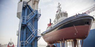 Usiba, one of TNPA's newer tugs built in Durban
