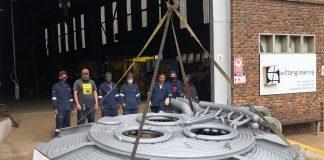 Swift Nova Acquisition - Arc Furnace Roof