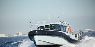naval survey motor boat